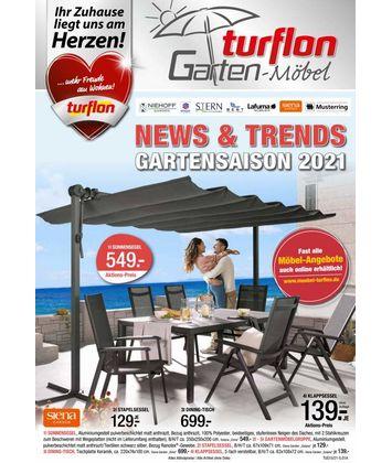 Möbel Turflon Werl: Garten-Highlights 2021
