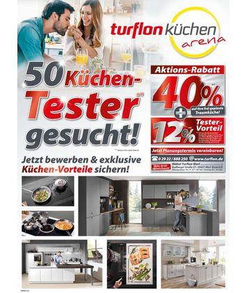 Turflon Küchenarena: Küchen-Tester